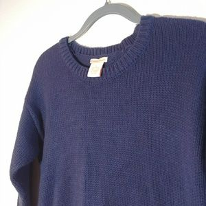 Sweet Romeo Blue Hi-Lo Sweater from Nordstrom